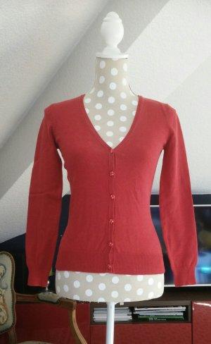 Roter Cardigan von Vero Moda in Gr. XS