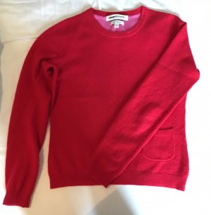 Roter cashmere Pullover