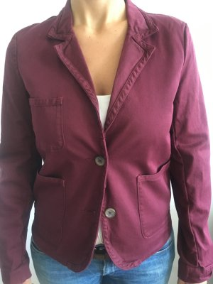 roter Closed Damenblazer