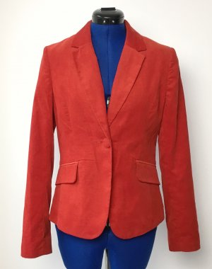 Roter Cord-Blazer H&M Gr. 38