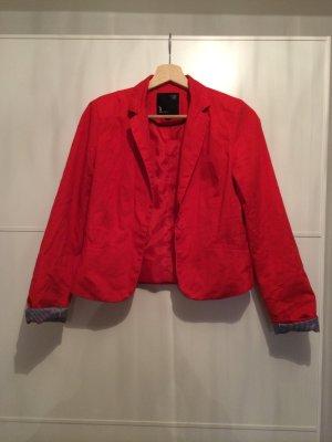 Roter, eleganter Blazer