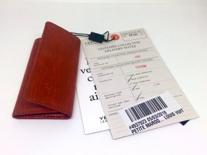 Louis Vuitton Astuccio per chiavi bordeaux