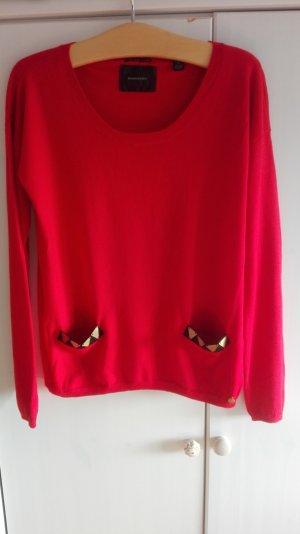 Roter Feinstrickpullover, 40 (3), MAISON SCOTCH - Am 30. April schließe ich meinen Kleiderschrank!!!