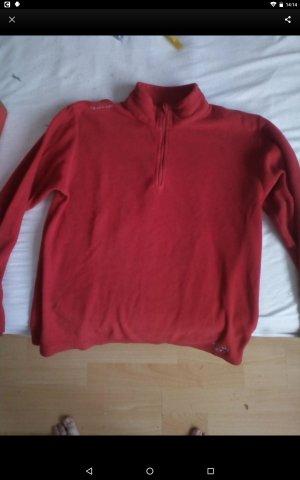 Quechua Fleece Jumper red