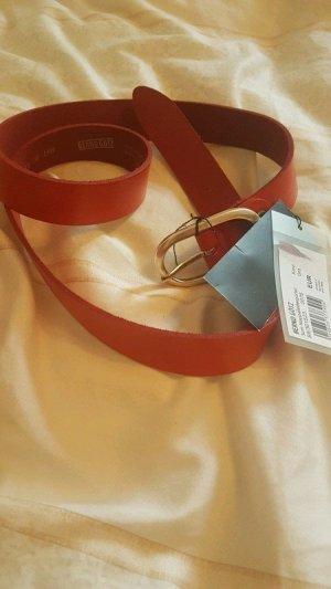 Bernd Götz Cinturón de cadera color plata-rojo