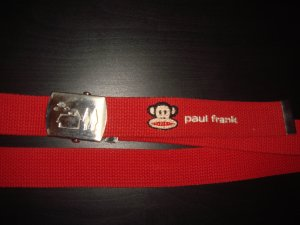 Paul frank Fabric Belt red