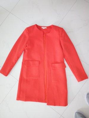 Roter H&M Mantel in Größe M zu verkaufen