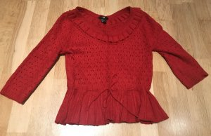 Roter H&M Pullover - NEU