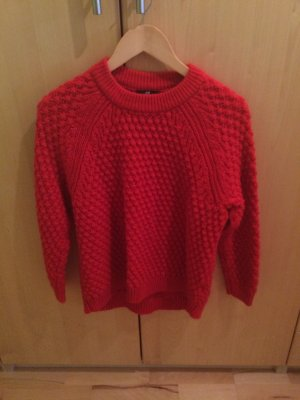 Roter H&M Strickpullover