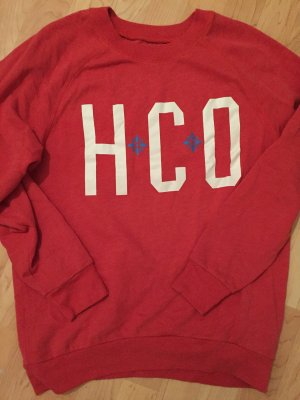 Roter Hollister Pullover