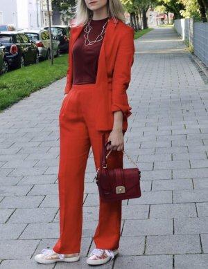 H&M Abito business multicolore Lino