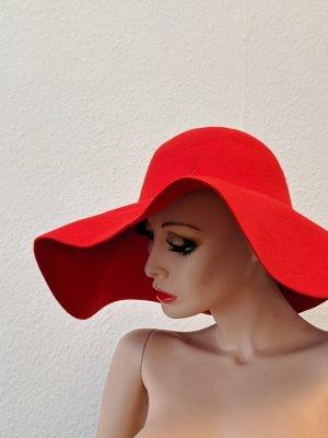 Roter Hut Vintage Sommer