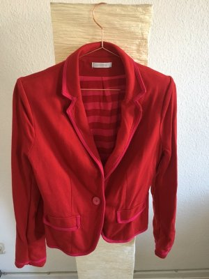 roter Jersey-Blazer in Größe 40 von Promod