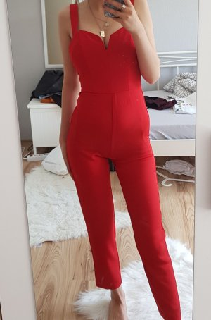 roter jumpsuit/Overall