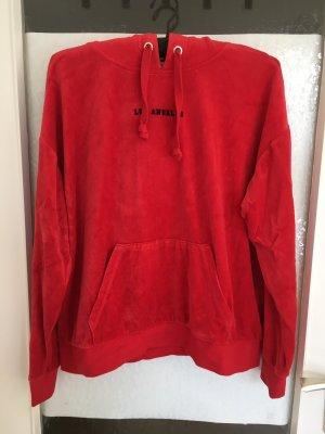 Juicy Couture Fleece Jumper red-black