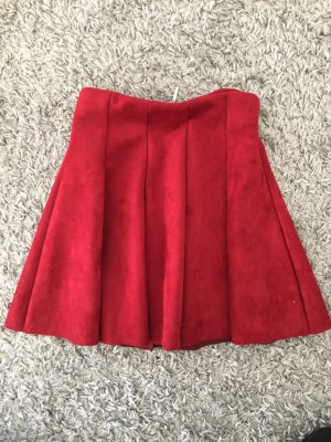 Tally Weijl Circle Skirt carmine-silver-colored
