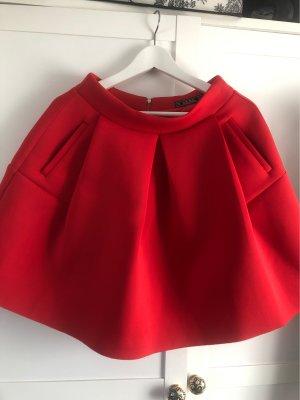 Flared Skirt red