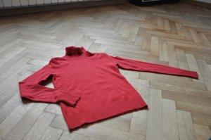 Roter Liu Jo Kaschmir-Rollkragenpullover *Neu*
