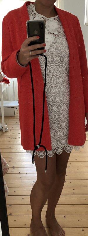 Roter Longblazer Zara