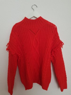 Roter Mango Pullover