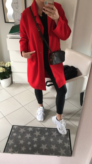 & other stories Oversized Coat red-dark red