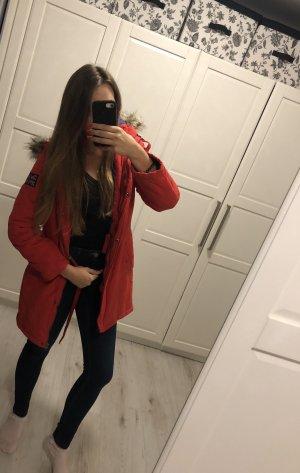 AJC Capuchon jas rood