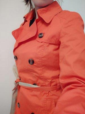 roter Mantel Trenchcoat Jacke Esprit Größe 36 s smal #wie neu#