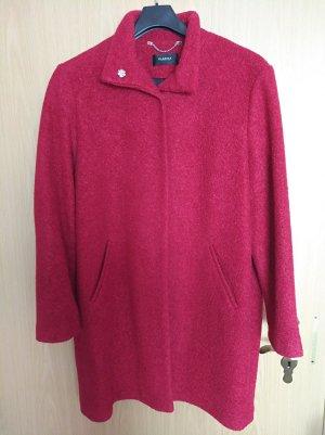 Roter Mantel von Clarina Collection, Größe 46