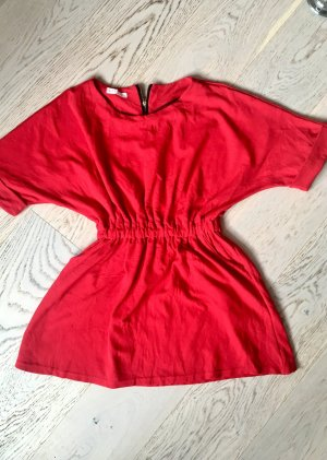 beclaimed vintage Abito jersey rosso