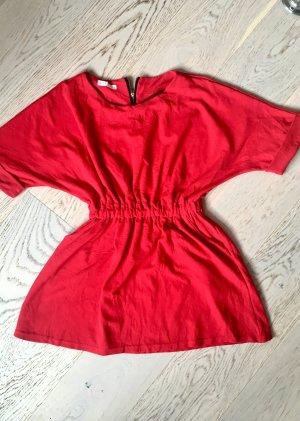 Roter Mini Kleid aus Jersey