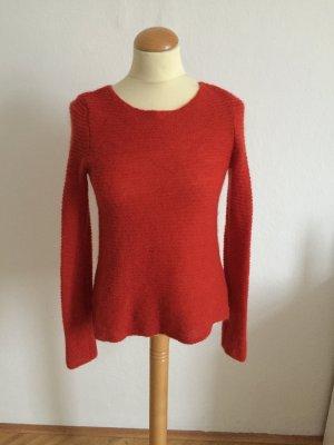 Marc O'Polo Jersey de lana rojo ladrillo mohair