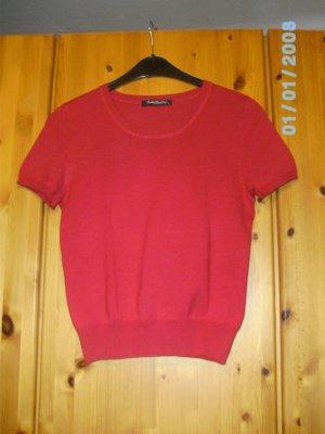 Roter neuer Feinstrickpullover von Betty Barclay aus 80% Seide Größe 38