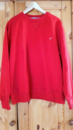 roter Nike Sport Pullover