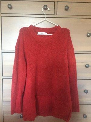 Zara Maglione oversize rosso