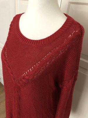 Roter Pulli von Vero Moda