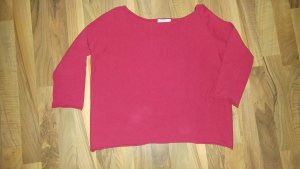 Roter Pullover 3/4 Arm