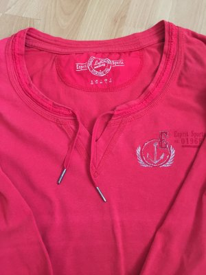 Roter Pullover von Esprit Sports Größe 40