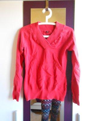 Roter Pullover von Fishbone Größe L