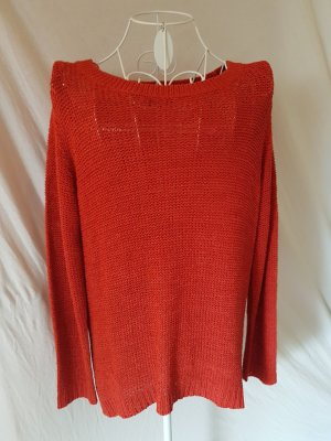 Roter Pullover von Gina Benotti Gr. 40/42
