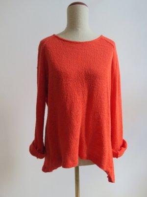 Roter Pullover von Zara / Strick