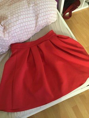Asos Balloon Skirt red