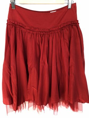 H&M Jupe à plis rouge