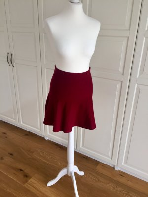 Zara Circle Skirt carmine-dark red