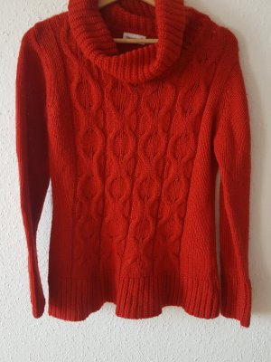 Yessica Turtleneck Sweater red