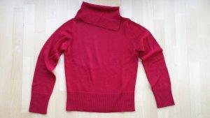 Maglione dolcevita rosso