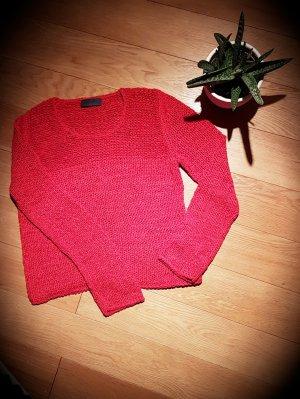 Roter Rundhals-Pullover von Oui
