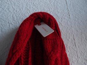 Roter Schal / Rundschal von Esprit NEU