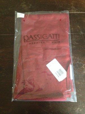 Roter Schal von Passigatti