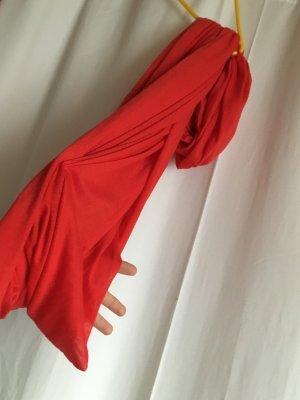 Roter schlauchschal von H&M