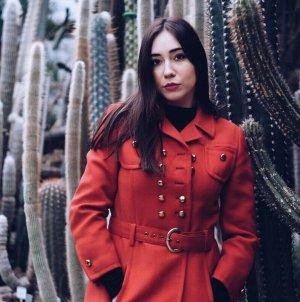 Roter Schneewittchen Mantel